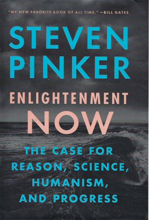Good description of human progress and access to energy and free markets (Source: Stephen Pinker)