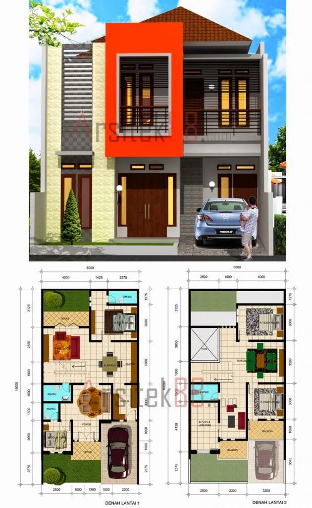 Desain Rumah 5 X 10 2020