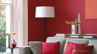 7 Tips Dekorasi Hunian dengan Warna Merah