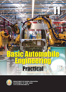 Plus one Basic Automobile Engineering Practicals Textbook
