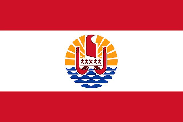 Bandera de Polinesia Francesa