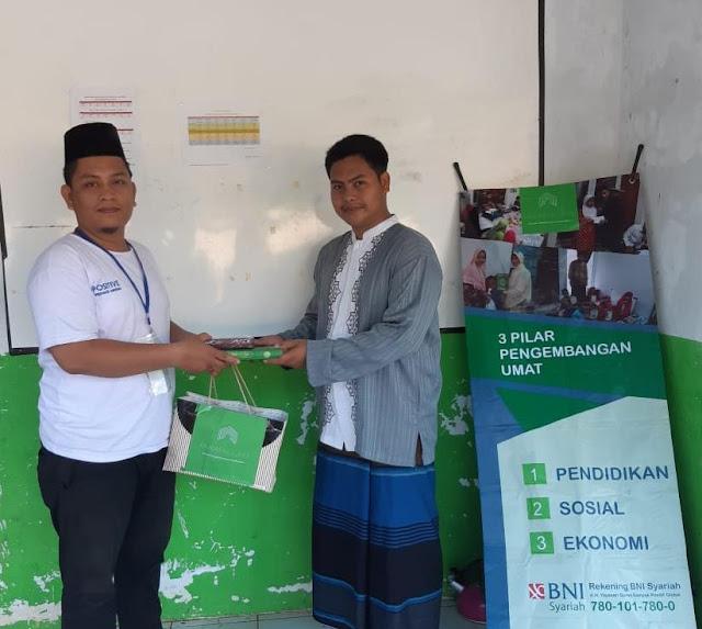 Distribusi Wakaf Al-Qur'an di Serang Banten