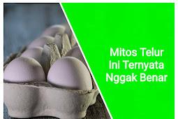 Mitos Telur Ini Ternyata Nggak Benar