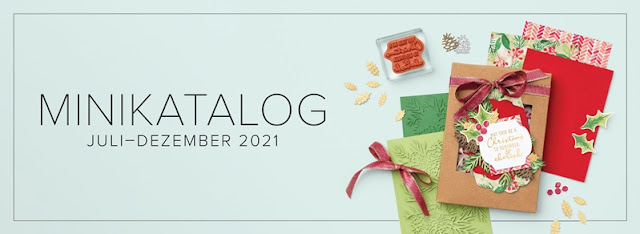 Stampin Up Minikatalog Juli - Dezember 2021