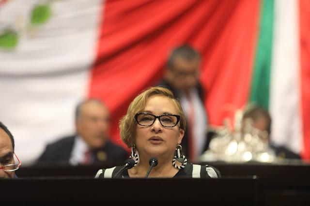 diputada Mónica Bautista Rodríguez (PRD)