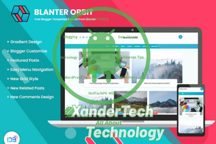 Download Blanter Orbit Free Blogger Template