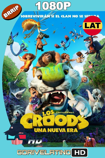 Los Croods 2: Una Nueva Era (2020) BRRip 1080p Latino-Ingles MKV