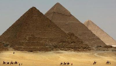 Dua Kamar Rahasia ditemukan Dalam Piramida Besar