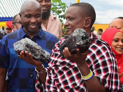 mineral de tanzanita mas grande del mundo