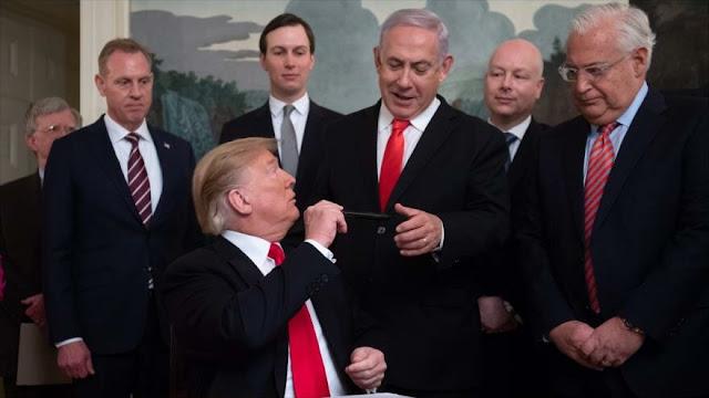 Netanyahu pide a Trump que reconozca anexión israelí de Cisjordania