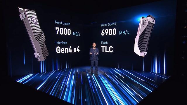 MSI Rilis Gaming SSD Berkecepatan 7 GB/s Khusus untuk Gamers !