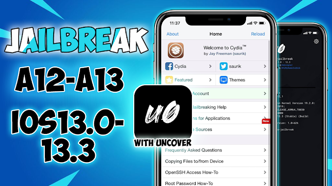 """Jailbreak iOS 13.0-13.3 For A12/A13 Devices. with/without Computer! """"Unc0ver Jailbreak"""""""