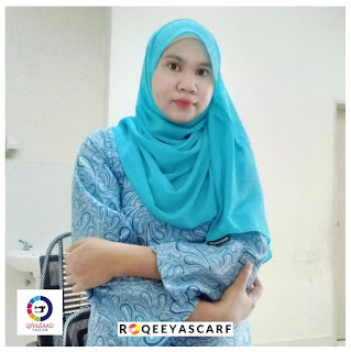 Shawl by Qiya Saad, bisnes shawl, jual shawl, kain shiffon, harga shawl, supplier shawl klang dan shah alam, shawl labuh, qiya saad tailor, jahit tudung, shawl Chiffon plain, roqeeyascarf, hijabista, wanita perempuan gadis isteri cantik tutup aurat, sky blue color, selendang,