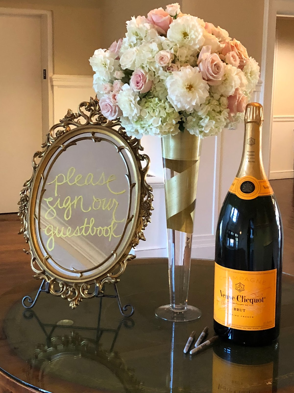 boston wedding planners, where to get married in boston, country club wedding new england, florals by jeri, florists in boston, wedding flowers, boston wedding planner, guest book ideas, large bottle of champagne