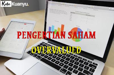 Pengertian saham Overvalued beserta contoh dan cara menentukannya