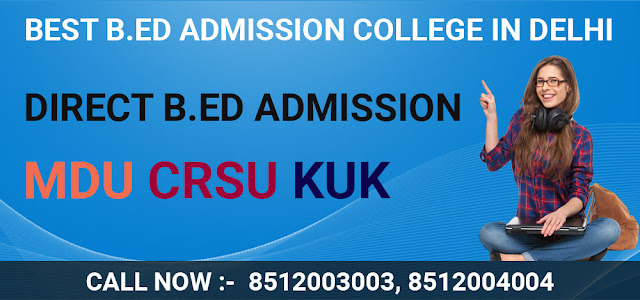 B.ed-Admission-Delhi