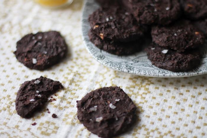 svarta bönor kaka