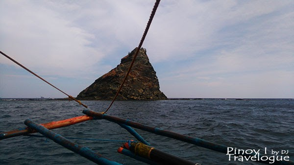 Poop-shaped island spotted along the way