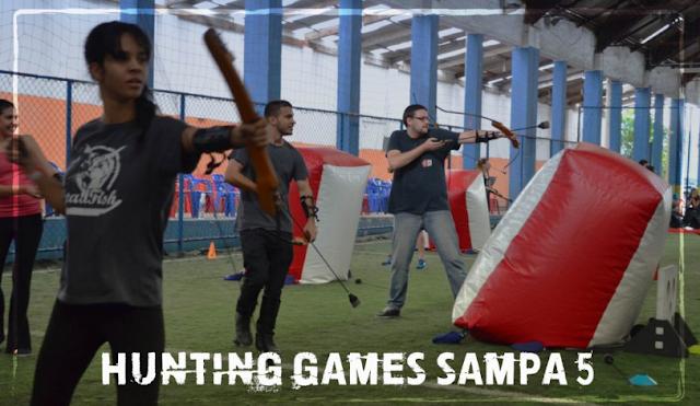 Jogadores no Hunting 5