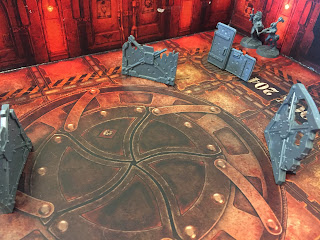 The first scenario from Necromunda: Underhive.