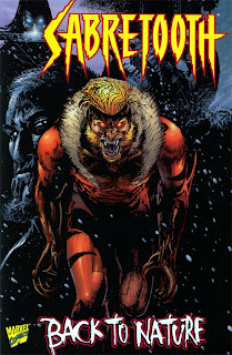 Review Sabretooth Back to Nature Jorge Gonzalez Frank Teran Victor Creed Wild Child X-Factor Marvel Cover original graphic novel ogn one-shot trade paperback tpb comic book