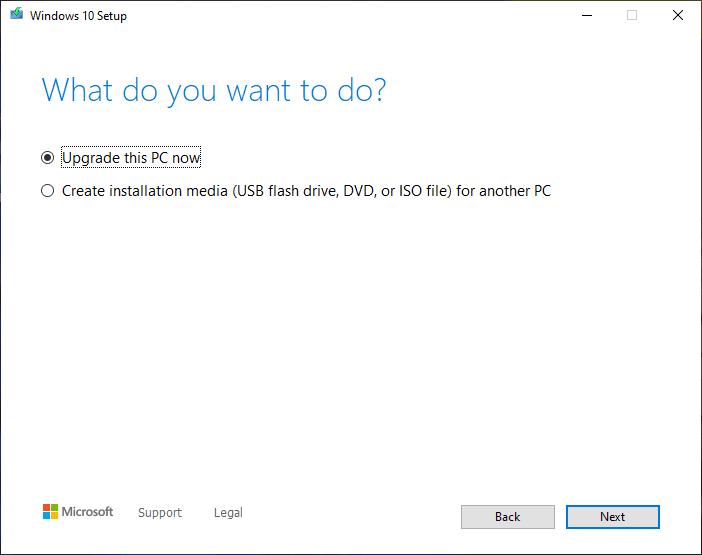 كيفية الترقية الى ويندوز 10 مجانا