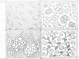 All over saree design drawing for hand emroidery.jaal khaka drawings for saree design.saree design patterns pencil sketch of hand emroidery design.