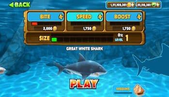 تنزيل لعبة hungry shark مهكرة