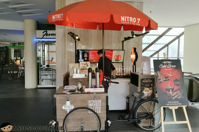 Nitro7 Cart in Greenbelt 3, Makati