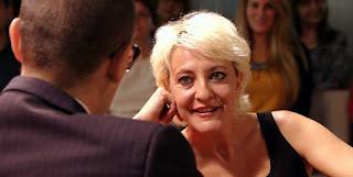 Eva Hache en la entrevista con Ristro