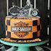 Birthday Cake Harley Davidson