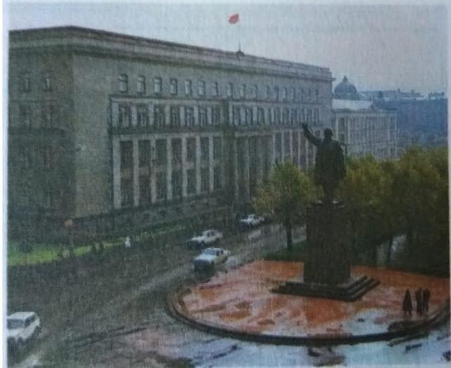 Памятник В.И.Ленину в Ригу на ул.Ленина