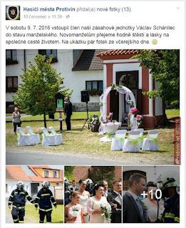 Svatba v Záboří u Protivína