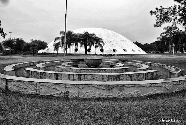 Panorâmica da Oca do Ibirapuera - Pavilhão de exposições São Paulo