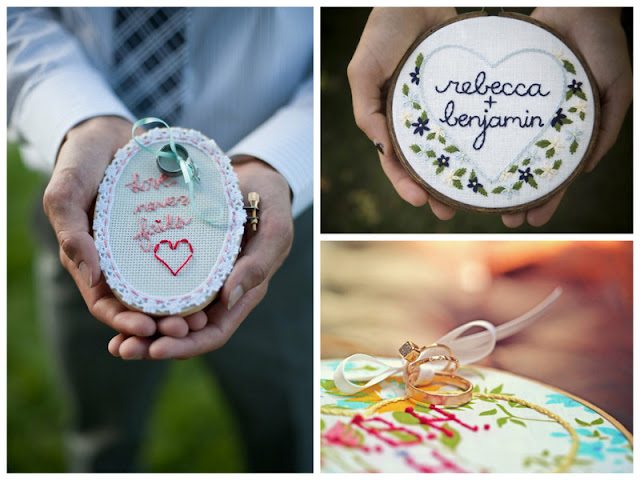It s in the details embroidery hoop wedding decor diys