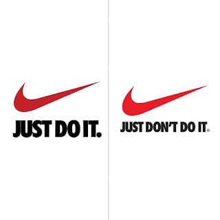 لوجو Nike في زمن الكورونا