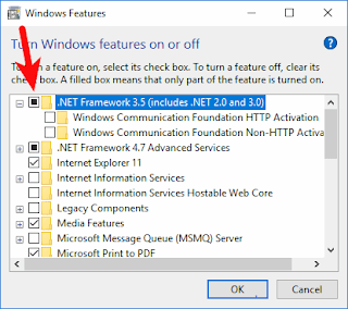 How to enable .NET Framework 3.5 on Windows