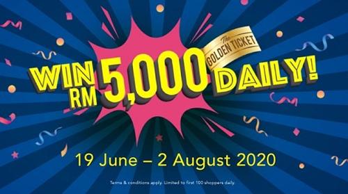 Golden Ticket Campaign, Suria KLCC, Alamanda Shopping Centre, Mesra Mall, Cuti Cuti Suria KLCC, Travel, Shopping Mall in Malaysia, Cuti Cuti Malaysia, Shopping Mall, Lifestyle