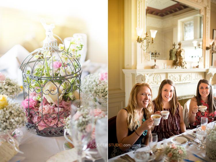 High Tea Time Wedding Shower Decor Photography - Sudeep Studio.com