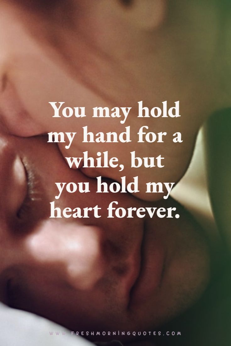 hold my hands forever