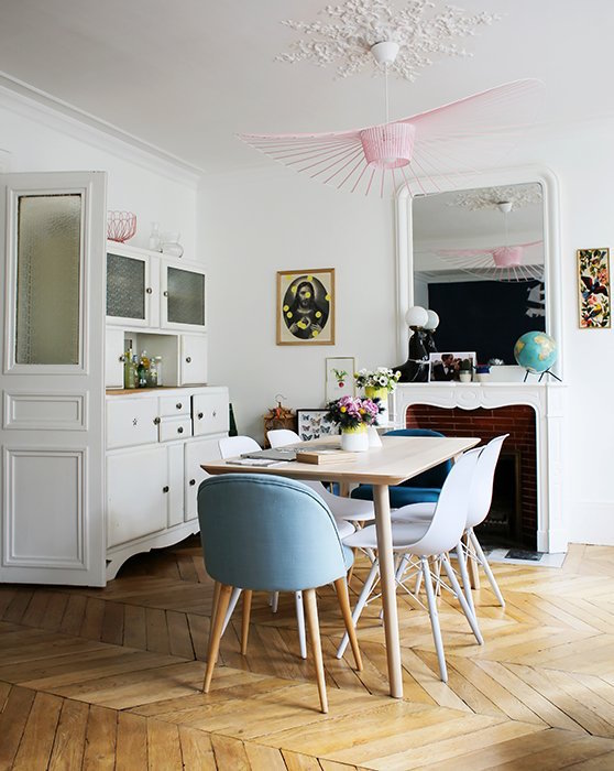 Lisa's happy Parisien home