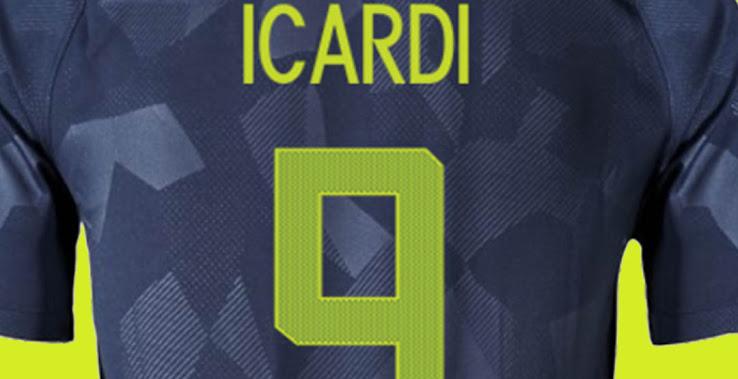 info for 3278f e52d9 Unique Nike Inter Milan 17-18 Third Kit Font Revealed ...