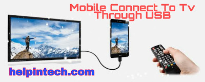 How to connect mobile to tv