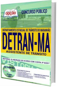 Apostila Concurso DETRAN-MA 2018 Assistente de Trânsito