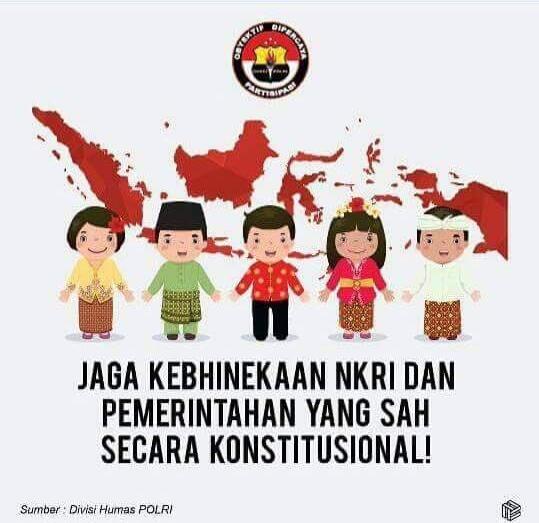 Tampilkan Pakaian Adat China, Poster Kebhinnekaan Gaya Baru Ini Gegerkan Media Sosial : Berita Terbaru Hari Ini
