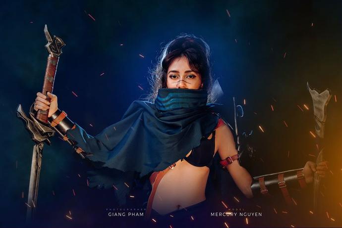 Cosplay Yasuo - LOL - Coser Mercury Nguyen