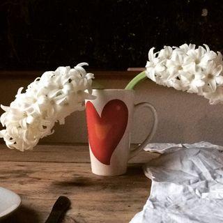 die guten Dinge Blumen in der Vase