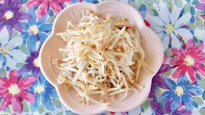 5 MIN Tuna Bean Sprouts