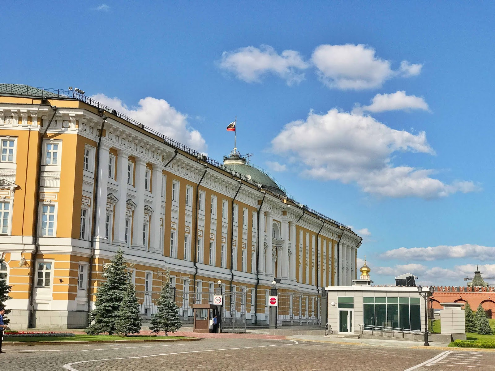 The Kremlin Home Of Vladimir Putin