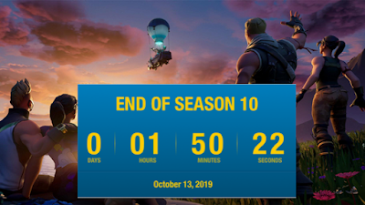 SEASON 11 FORTNITE: TIME OF THE UPDATE, WHEN IS THE MAJ FOR THE ROCKET EVENT